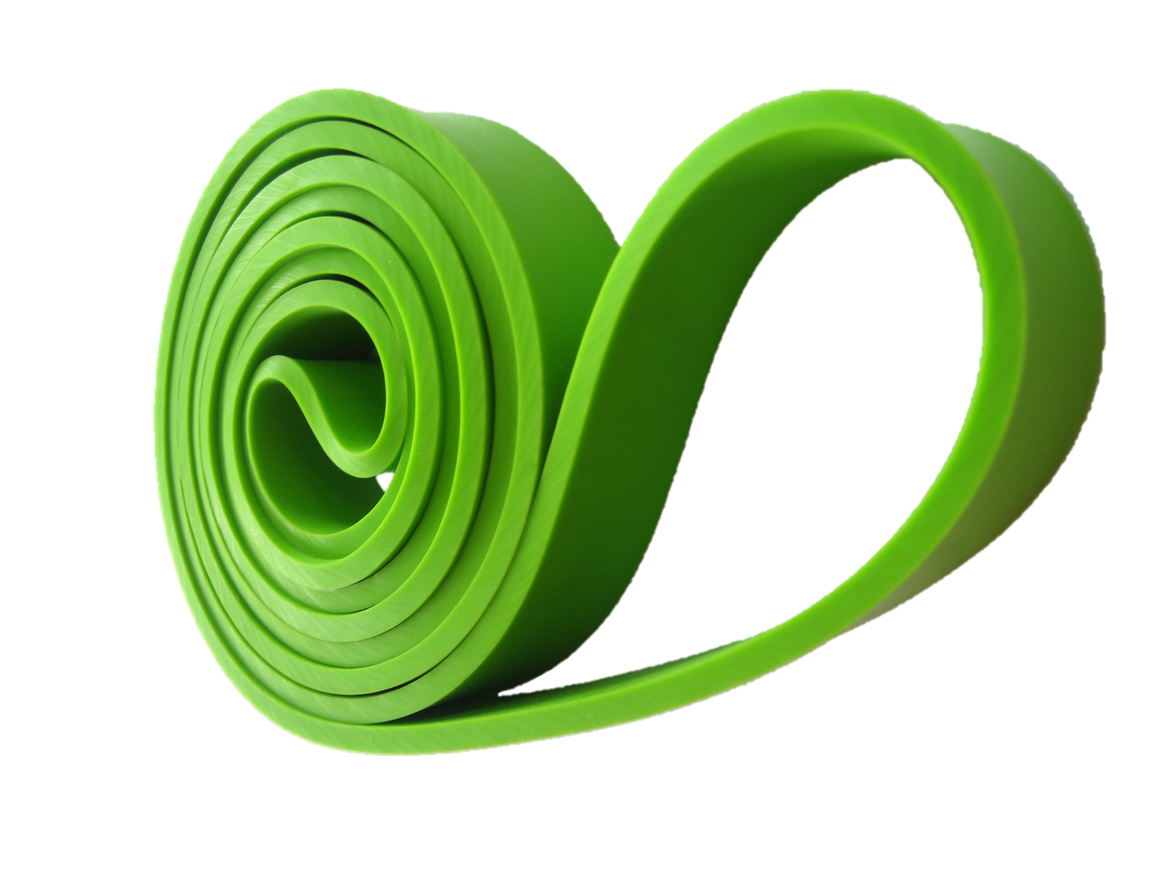 gym in the pocket - resistance band - green